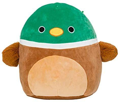 Amazon Com Squishmallow Avery The Duck 8 Inch Stuffed Plush Toy Toys Games Plush Toy Animal Pillows Plush