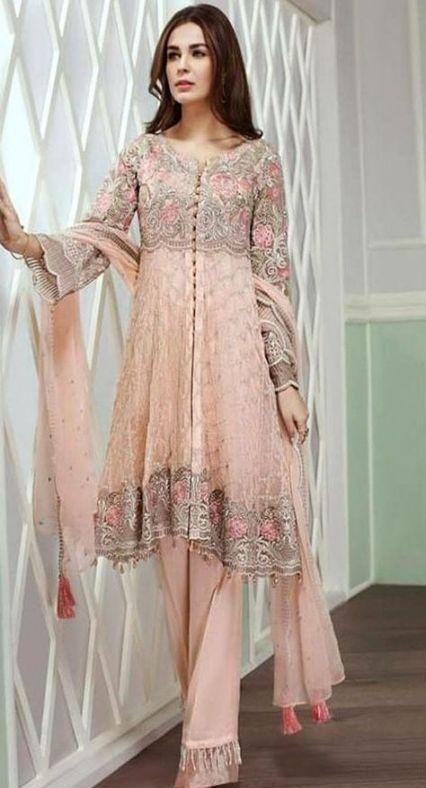 Dress Hijab Chiffon Beautiful 62 Trendy Ideas Pakistani Dress Design Chiffon Dress Dresses