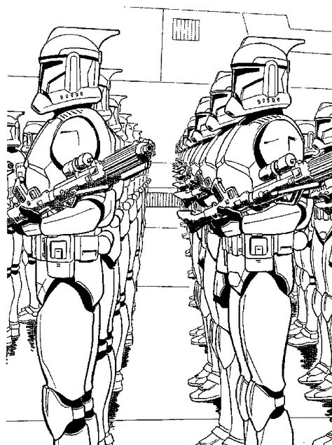 Star Wars Transporter - Free Colouring Pages   635x474