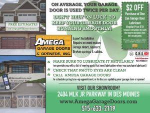 Amazing Amega Garage Door Openers