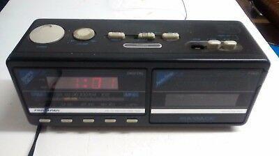 Soundesign 3826BLK Clock AM FM Radio Cassette Alarm #fashion #home #garden #homedcor #clocks (ebay link)