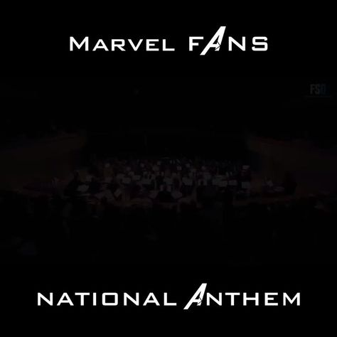 MCU Fans' National Anthem - #Anthem #Fans #MCU #national #watches