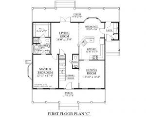 House Plans With Master Bedroom On First Floor