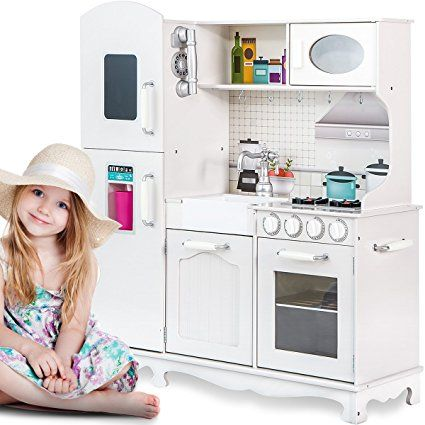 Merax Ultimate Large Kitchen Cooking Pretend Toddler Playset ...