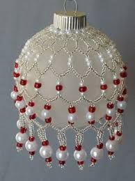 Beaded Christmas Ornaments Patterns.Image Result For Seed Bead Christmas Tree Ornament Pattern