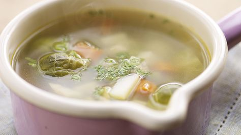 Luigi's Winter Vegetable Soup is just the thing to beat the January chill!
