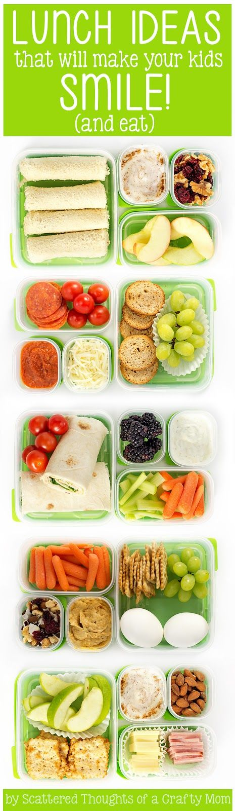 5 School Lunch Ideas To Make Your Kids Smile