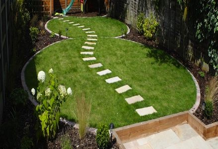 ideas for small curved stone benches in a garden interior home gardening pinterest west london garden paths and stone bench
