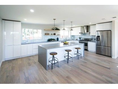 White Gloss Flat Panel Rta Euro Style Best Online Cabinets European Kitchen Cabinets High Gloss Kitchen Cabinets Gloss Kitchen Cabinets