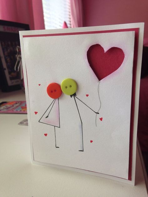 Cute anniversary or valentines day card :)  #Anniversary #Card #cute #Day #Vale