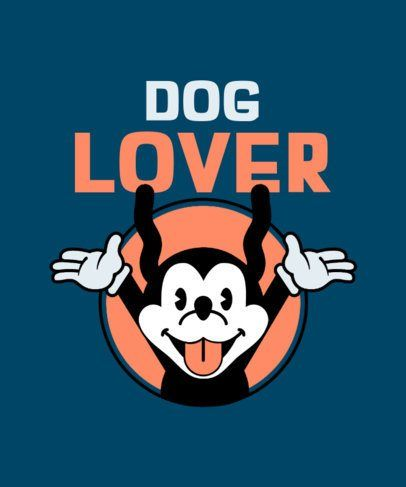 Download Placeit Retro T Shirt Design Creator With A Screaming Dog Cartoon In 2021 Retro Tshirt Cartoon Dog Silly Dogs