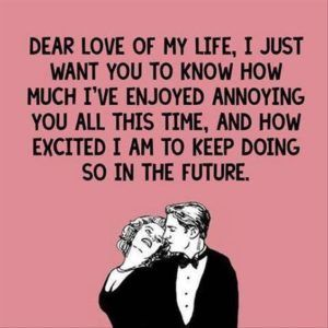 Funny Love Quotes For Him And Her With Images Love You Funny