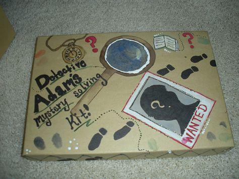 home made detective kit