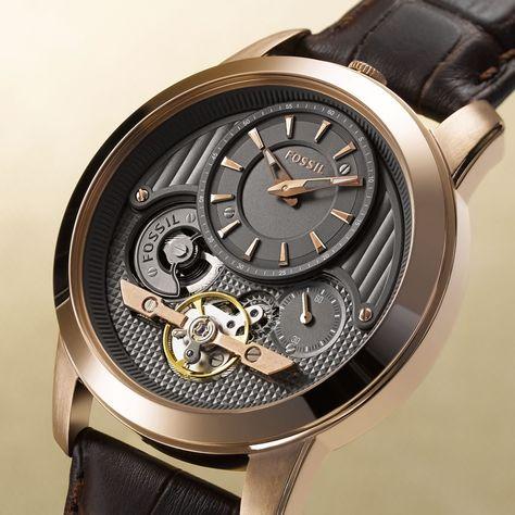 Fossil Watch- For Boyfriends    I know this is a dude's watch, it is sooooooo cooooooool!