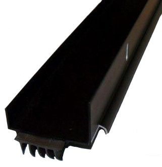 Door Bottom Sweep Aluminum Long Fingered 35 3 4 Length Bronze For 1 3 4 Thick Doors Bronze Sweep Bottom