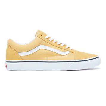 chaussures vans femme jaune