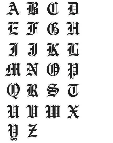 Fonts Alphabet Discover Gothic Font Name Decal Personalized Monogram Car Decal Laptop Decal Vinyl Lettering Yeti Cup Decal Yeti Cup Decal Calligraphy Fonts Alphabet, Tattoo Fonts Alphabet, Tattoo Lettering Fonts, Lettering Styles, Vinyl Lettering, Graffiti Lettering Fonts, Fonts For Tattoos, Cool Fonts Alphabet, Tattoo Font Styles