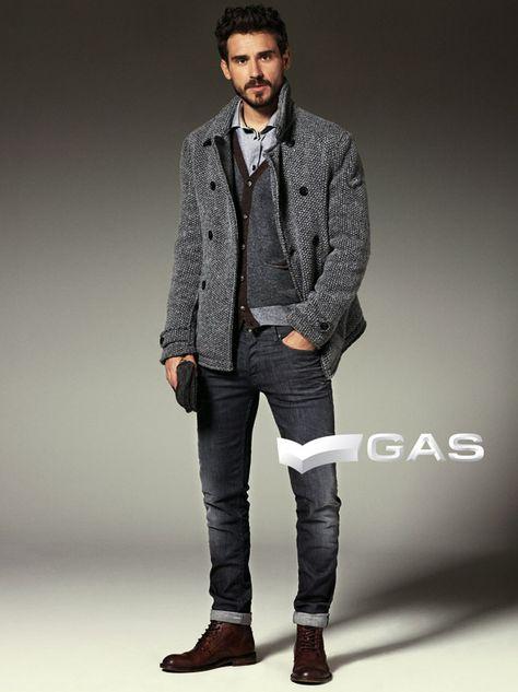 Arthur Kulkov Appears in Gas Jeans Winter Style Guide
