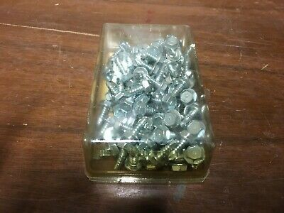 Details About 100 Count Box Of 10 16 X 1 2 Hex Head Drill Tap Screws Sheet Metal Screws In 2020 Sheet Metal Hex Screws