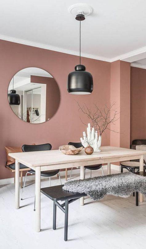 De mooiste interieurs met Dusty Pink muren - Alles om van je huis je Thuis te maken | HomeDeco.nl
