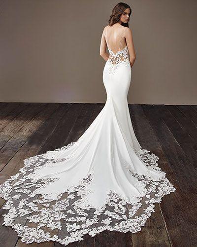 Blake Badgley Mischka Bridal Wedding Dresses Backless Mermaid