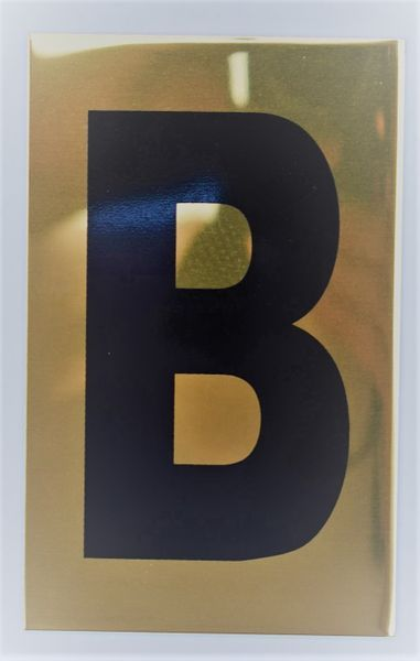 Apartment Number Sign B Gold Aluminum Signs 4x2 5 Sign Materials Aluminum Signs Colorful Backgrounds