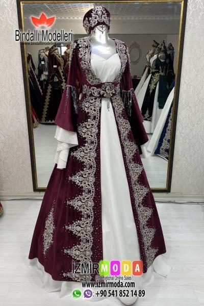 Kaftan G3529 Bordo 2020 The Dress Ortacag Elbisesi Victorian Elbiseler