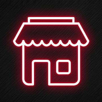 Shop Icon In Neon Style Shop Icons Style Icons Neon Icons Png Transparent Clipart Image And Psd File For Free Download Neon App Store Icon Shop Icon