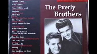 All I Have To Do Is Dream - Everly Brothers - YouTube
