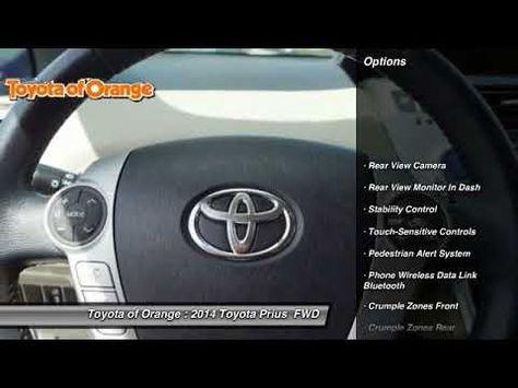 2014 Toyota Prius Orange Ca U18543 Youtube Toyota Prius
