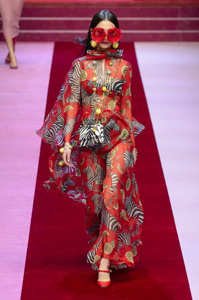 Dolce & Gabbana, Spring 2018 - Milan's Most Fabulous Dresses for Spring 2018 - Photos