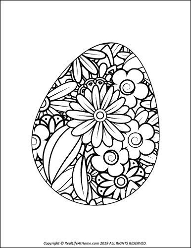Easter Egg Coloring Pages Free Printable Easter Egg Coloring Book Coloring Easter Eggs Easter Printables Free Easter Egg Coloring Pages