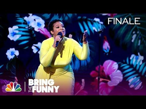 Comic Tacarra Williams Has Something To Say About Kids Bring The Funny Finale Youtube The Funny Bring It On Comedians