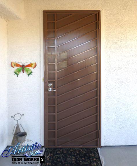 Security Doors Wrought Iron Security Doors Door Gate Design