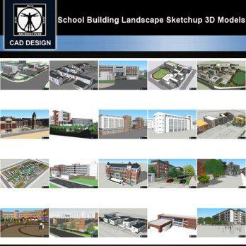 Sketchup 3d Models 20 Types Of School Sketchup 3d Models V 5