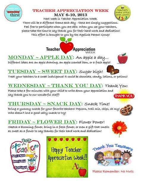 free printables for teacher appreciation week if you give a teacher