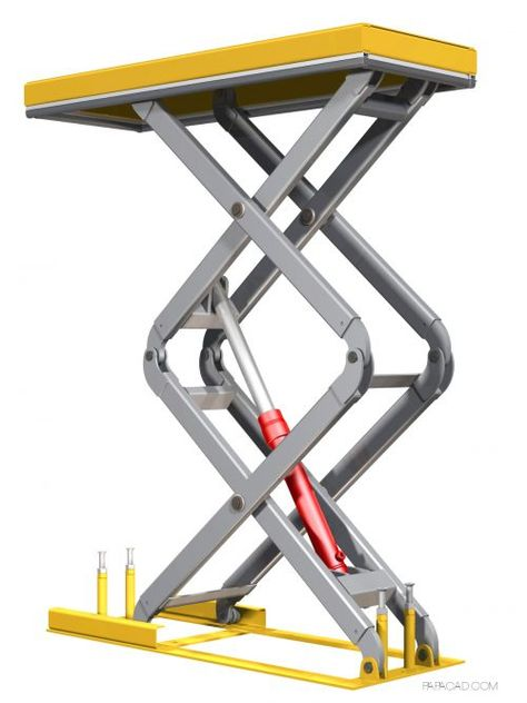 scissor lift table plans diy scissor lift table technick lift rh pinterest com