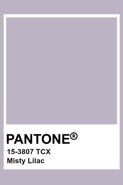 Pantone Misty Lilac
