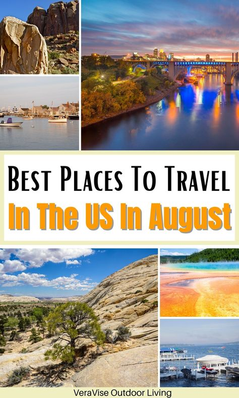 If you are looking for the best places to travel in the US in August, this comprehensive list of amazing US destinations should satisfy the bill. #travel #usatravel #august #familytravel