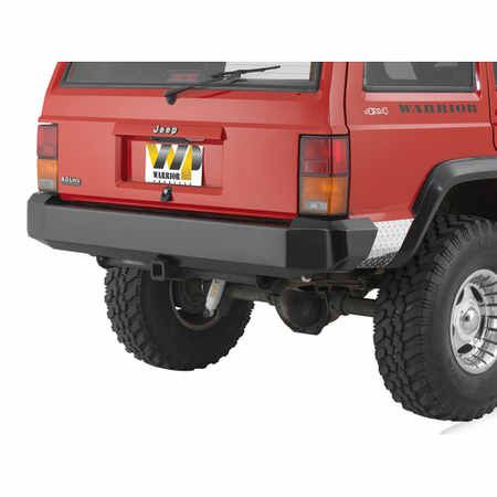 Warn Rock Crawler Rear Bumper For 89 95 Toyota Pick Up Quadratec
