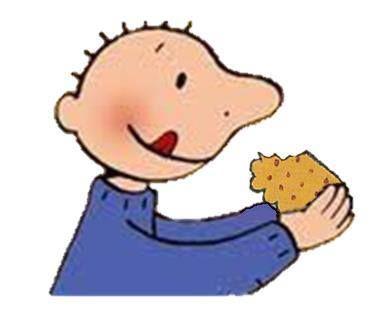 Afbeeldingsresultaat voor jules eet een koekje
