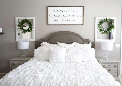 easy wall art ideas above the bed diy wall art bedroom decor rh pinterest com