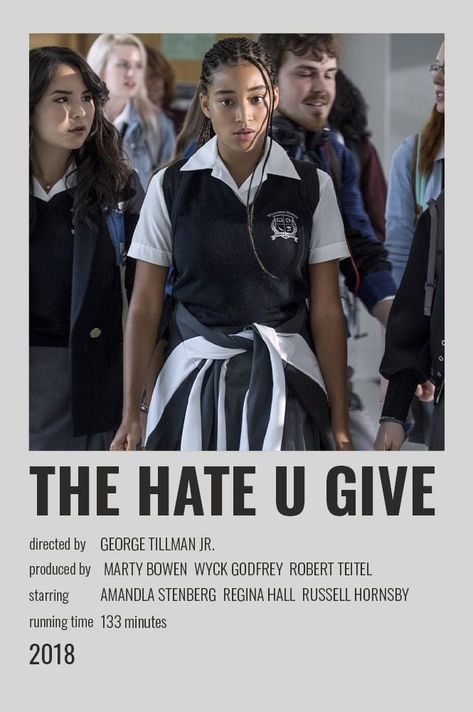 Polaroid Mini Movie Poster - The Hate U Give
