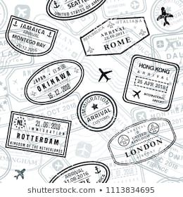 Similar Images Stock Photos Vectors Of Travel Stamps Adventure