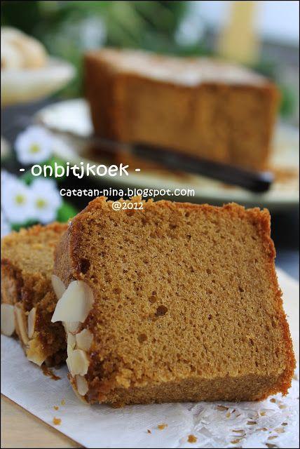 Resep Ontbijtkoek Oleh Teh Atiek Resep Kue Lezat Resep Kue Bolu