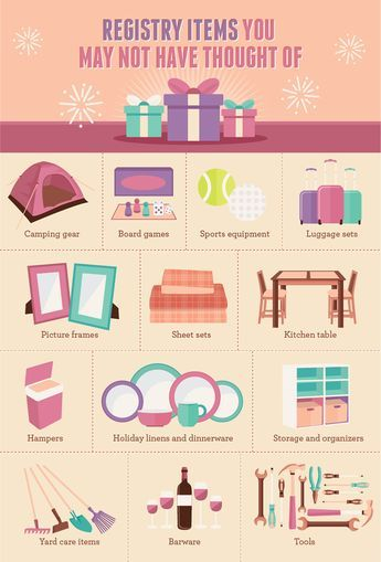 Wedding Registries: Some common items you may have left off your wedding registry and wished you didn't!