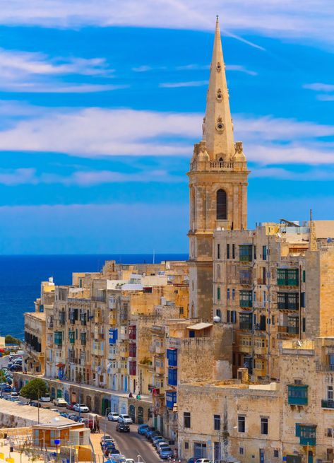 Old buildings in Malta Travel Destinations Backpack Backpacking Vacation Europe Budget Bucket List Wanderlust