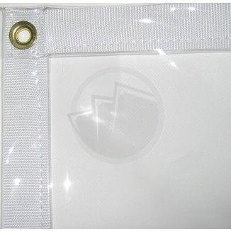 Heavy Duty Clear Tarps Put Magnets On Them Clear Vinyl Vinyl Tarps