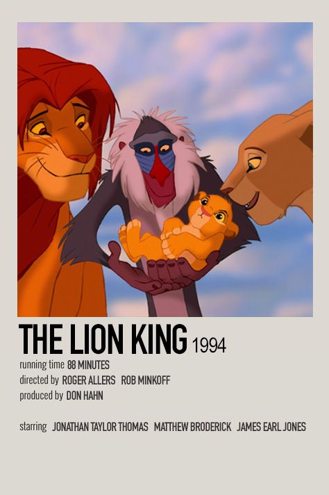 The Lion King (1994) by Jessi