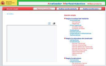 Aplicación Que Permite Repasar Toda La Gramática Y Analizar Oraciones Simples Y Compuestas Map Language Spanish Class